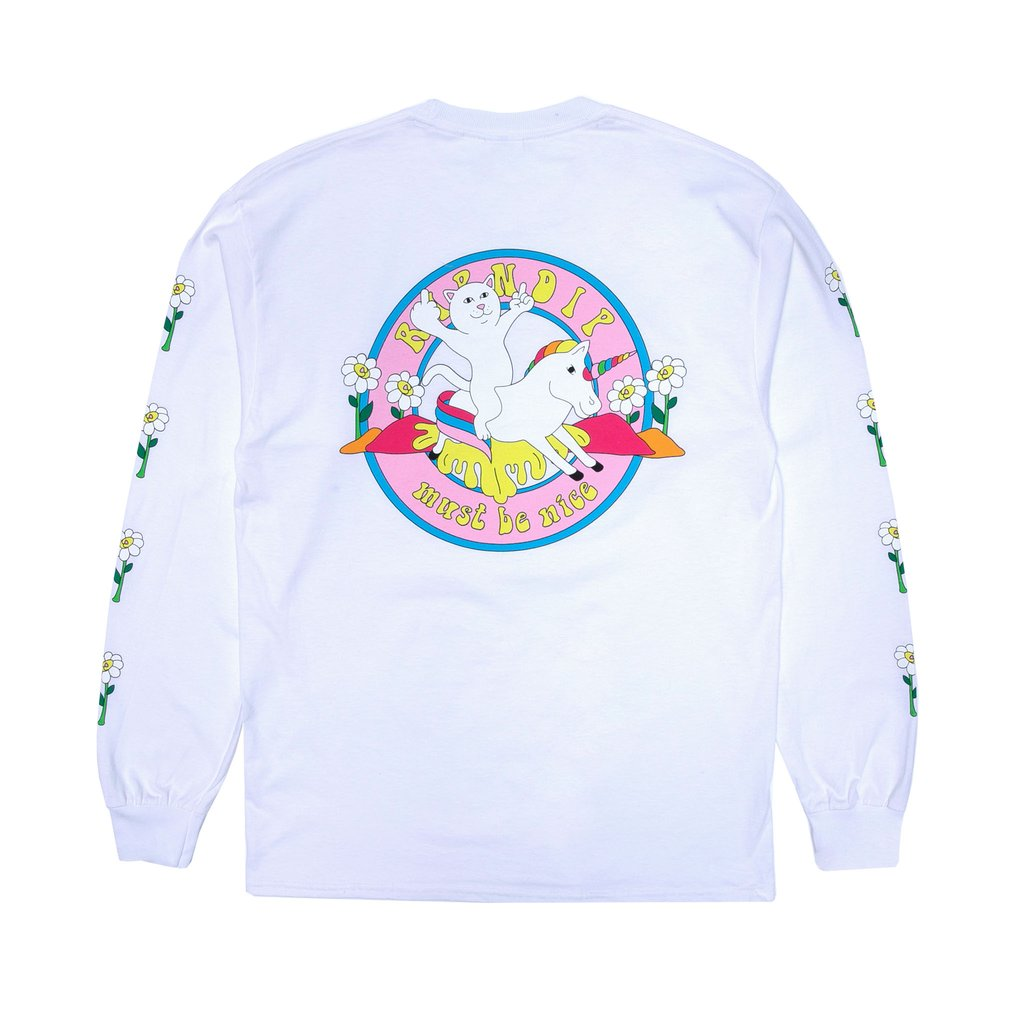 Unicorn Rider Long Sleeve (White)