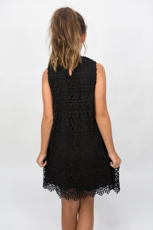 PPLA Darcy Lace Woven Dress