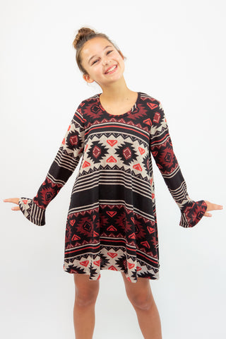 Habitual Girl Baylee Stripe Dress