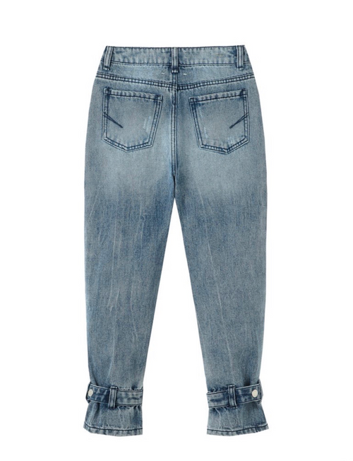 Adyson Belted Wide Leg Jeans