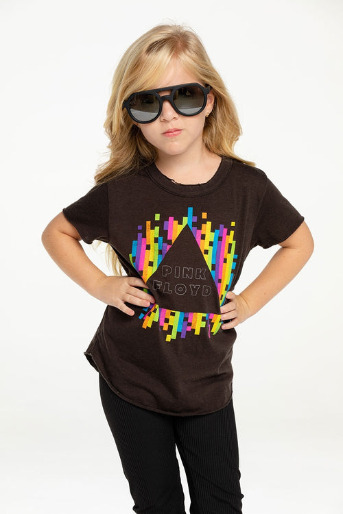 Chaser Pink Floyd Rainbow Triangle Tee