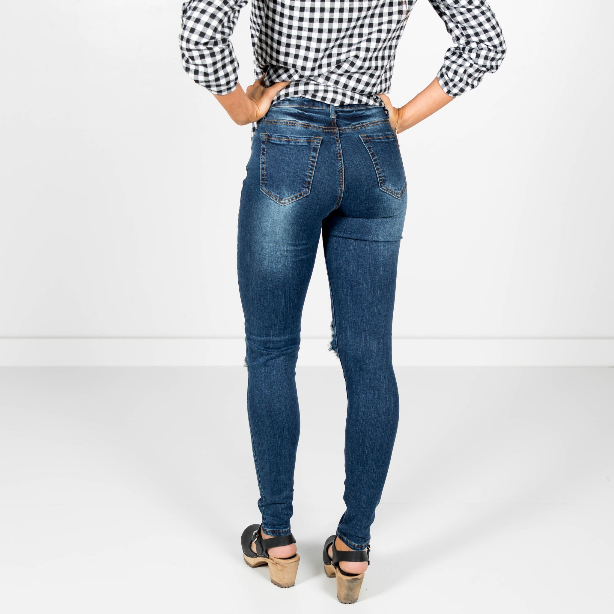 Rayze High Waisted Dark Denim