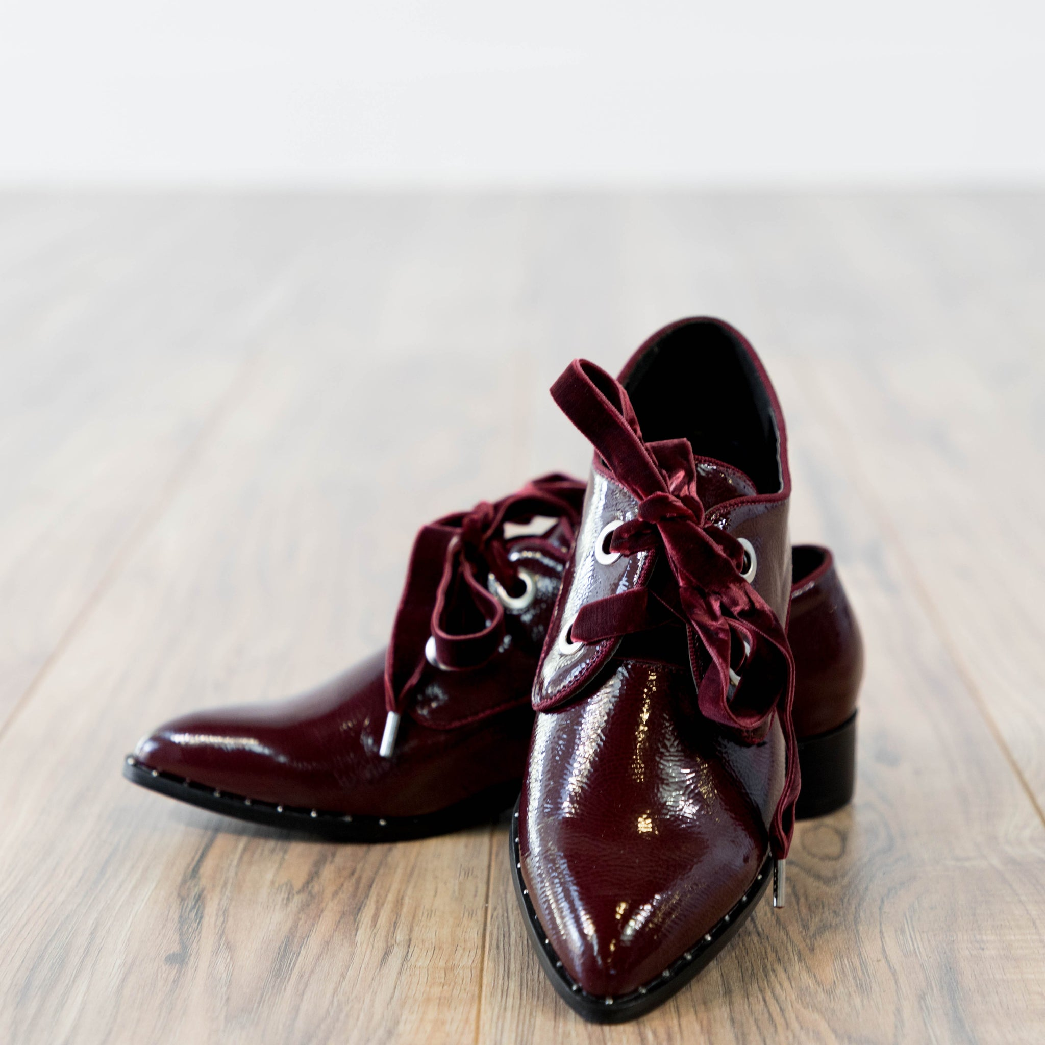 Burgundy Oxford