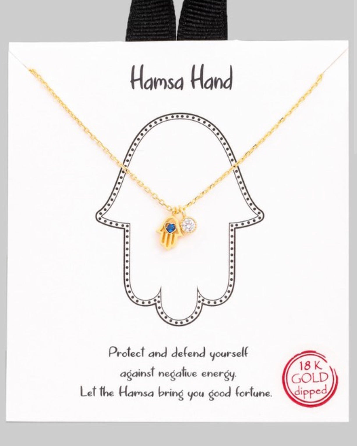 Hamsa Hand Of Hope Necklace