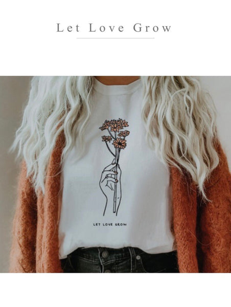 Let Love Grow Graphic Tee
