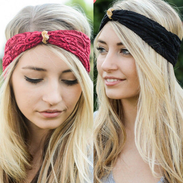 Elegant Lace Headband