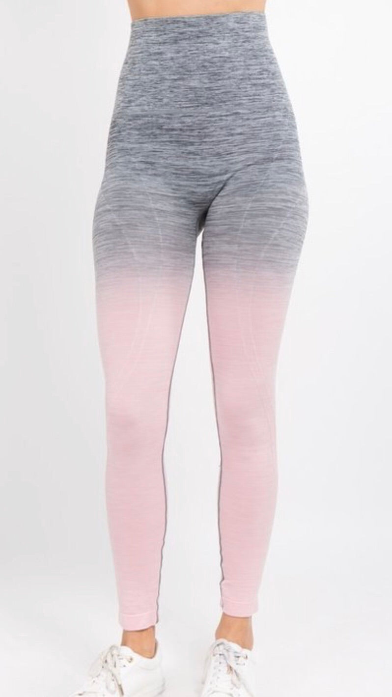 Ombre' Athletic Leggings