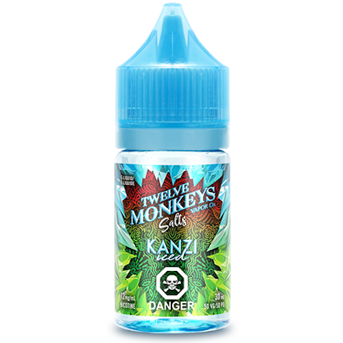 Twelve Monkeys Salt - Kanzi Iced 30mL