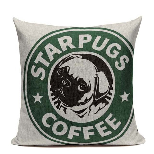 Starpugs Coffee Cushion Cover