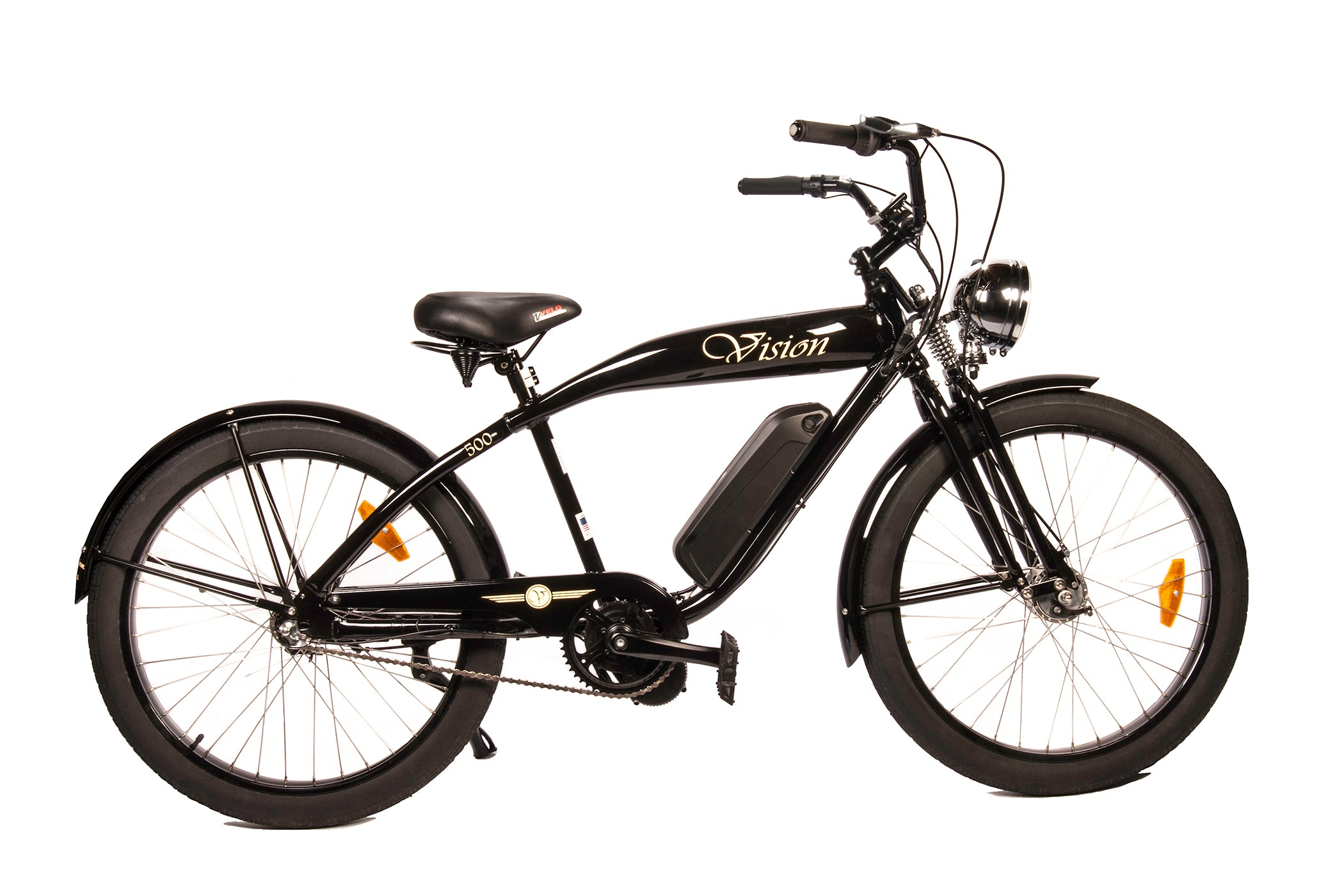 Phantom Vision Retro Electric Bicycle – ebicycleonline.com