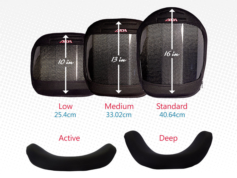 ADI™ Carbon Fiber Seat Base/Hardware