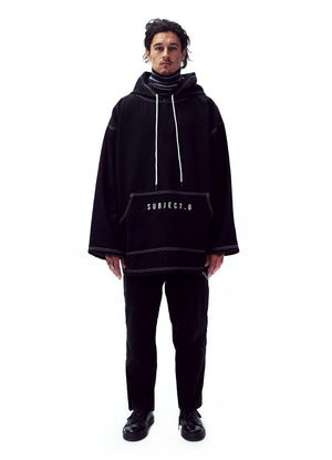 OVERSIZE TWILL HOODIE