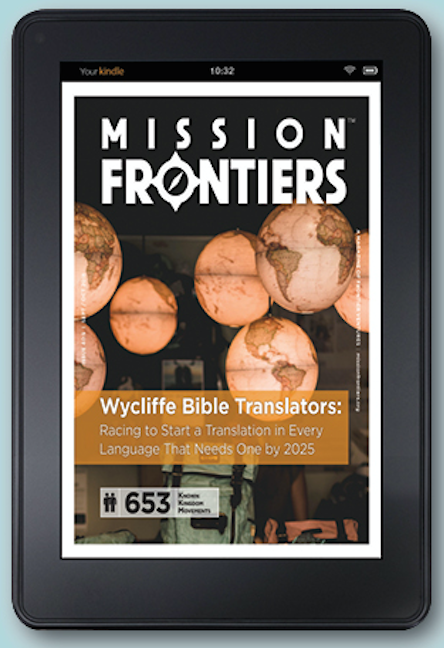 Wycliffe Bible Translators in Mission Frontiers Magazine