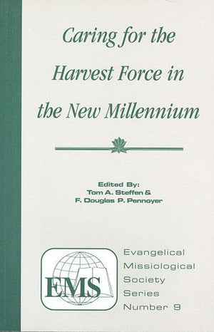 "Cover of the book ""Caring for the Harvest Force in the New Millennium (EMS 9): "" at MissionBooks.org"