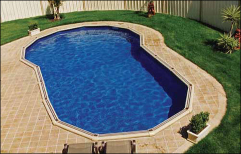 The Following Resin Keyhole Above Ground Pools Are Available In 46 12 Or 137m High Walls Flat Bottom Deep End Options Is Approx 18m