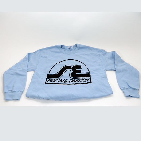 SE Racing Division Crew Neck Sweatshirt (Baby Blue)