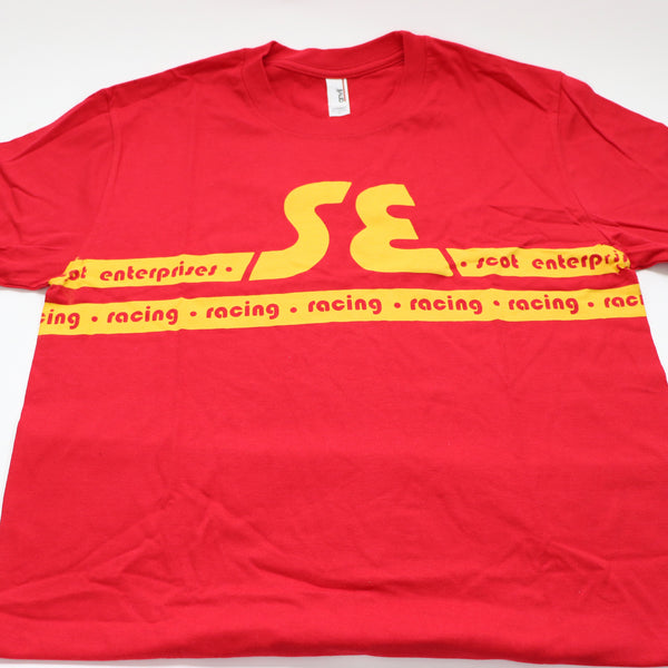 SE Racing - Scot Enterprises - Tshirt (Red & Yellow)