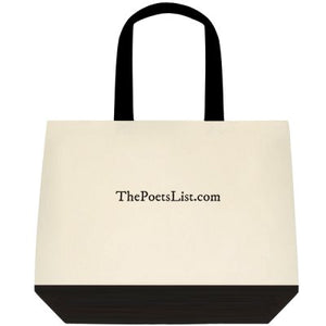 The Poet's List Tote Bag