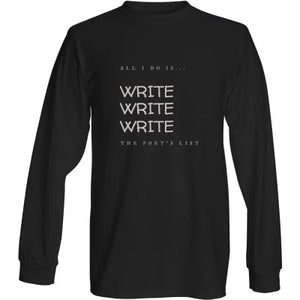 Write Long Sleeve Shirt