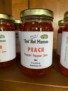 Peach Poppin' Pepper Jam