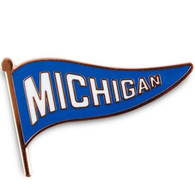 Michigan Goods - Michigan Pendant Pin-MittenCrate.com