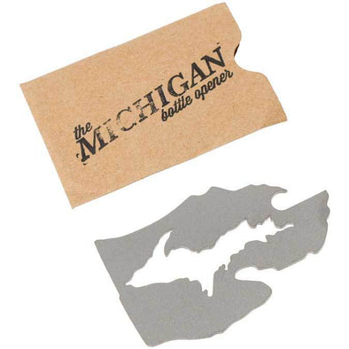 Stately Goods - Michigan bottle opener-MittenCrate.com