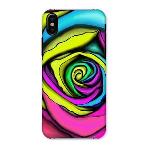 Rainbow Rose Phone Case