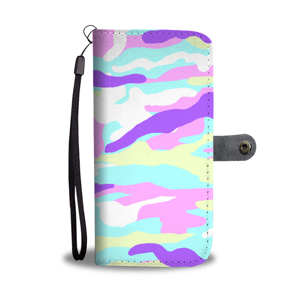 Unicorn Camouflage Wallet Phone Case
