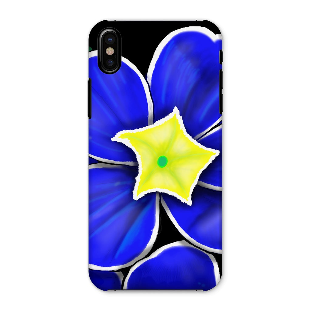Blue Prim Rose Phone Case