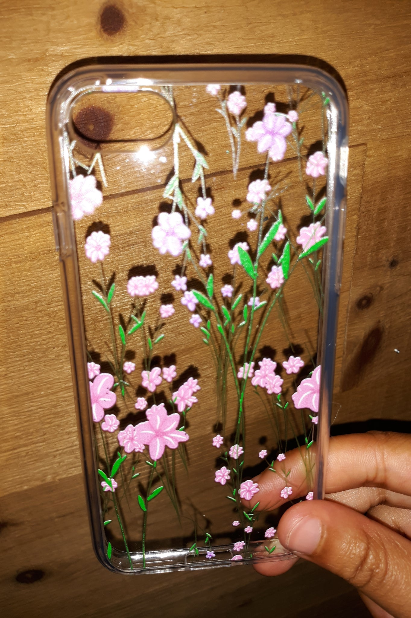 Pressed Floral Flower Look iPhone Case