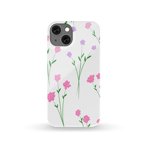 Floral flower Phone Slim Case