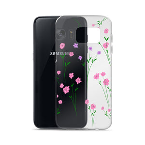 Pressed flower look Samsung Case