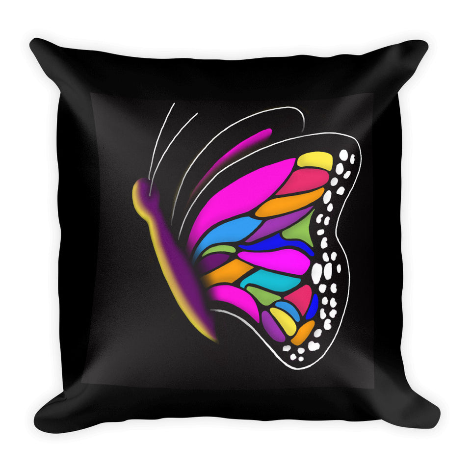 Original Art Butterfly Pillows