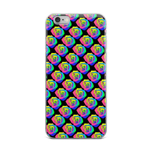 Rainbow Rose iPhone Case