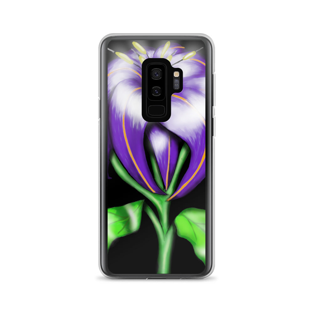 Butterfly Flower Floral Samsung Case