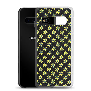 Yellow Flower Floral Samsung Case