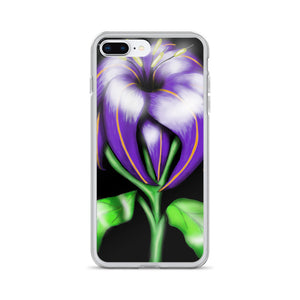 Butterfly Flower Floral iPhone Case