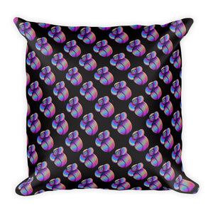 The Unicorn Flower Floral Throw Pillow 2