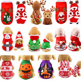 Christmas Dog Clothes for Dogs Coat Chihuahua Winter Halloween Costume for Small Big Dogs Pet Clothing Cat Hoodies Pet Clothing