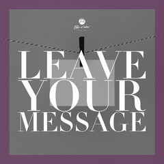 leave your message