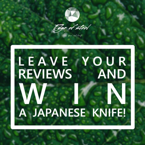 review, event, win, Japanese knife, edgeofsteel, knife shop, Australia, chef