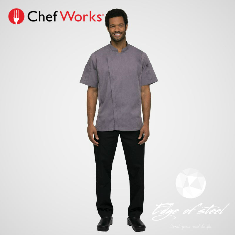 chef jacket, chefworks, chef wear, edgeofsteel, Australia, Brisbane, chef, kitchen