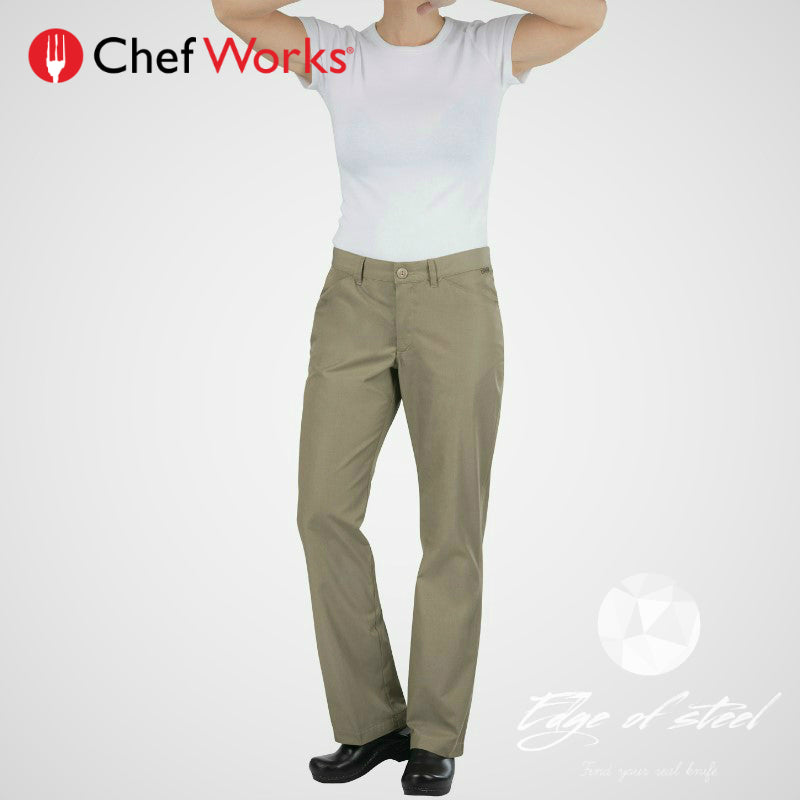 a3151b3974c Chefworks Womens Professional Lite  Chef Pants – EDGE OF STEEL