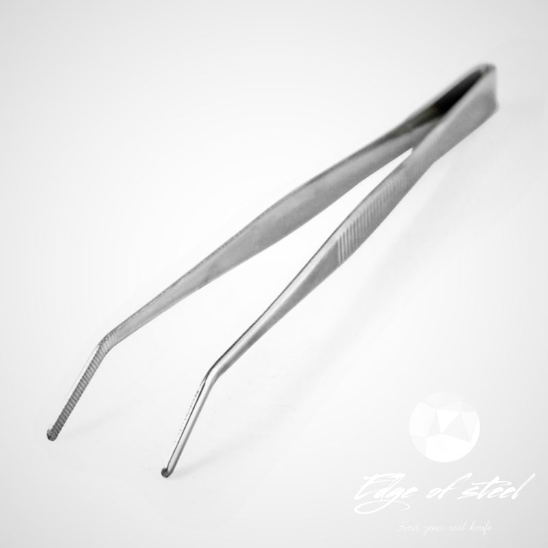 plating tweezer, pincette, 15cm, kitchen knives brisbane, kitchen knives australia