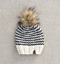 Pinstriped Knit Hat Custom Order