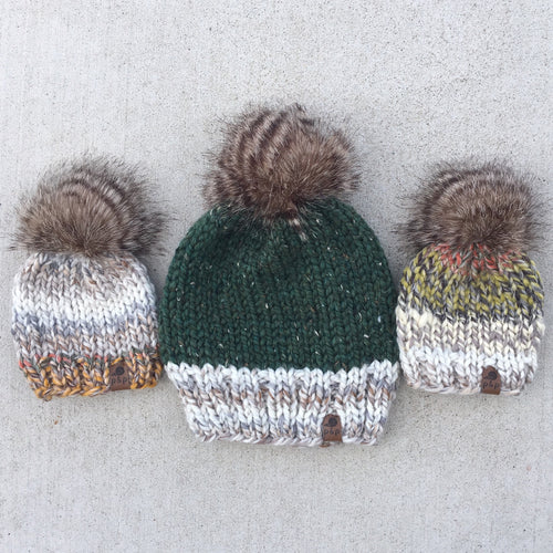 Color Dipped Knit Hat Custom Order