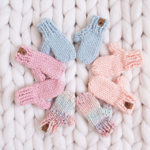 Baby Mittens- Ready To Ship