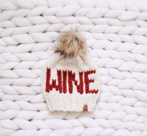 Ready to Ship Wine Hat