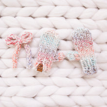 Chunky Knit Bows