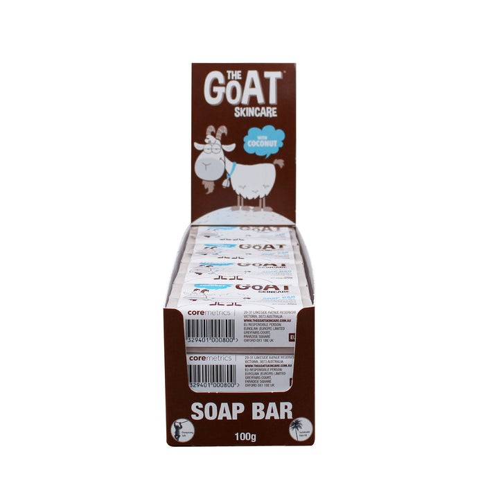 The Goat Skincare Soap Bar with Coconut 12x Bars